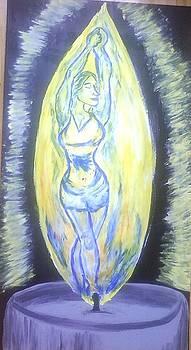 Candle Light by Dorine Coello