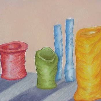 Candles by M Hakima  M D