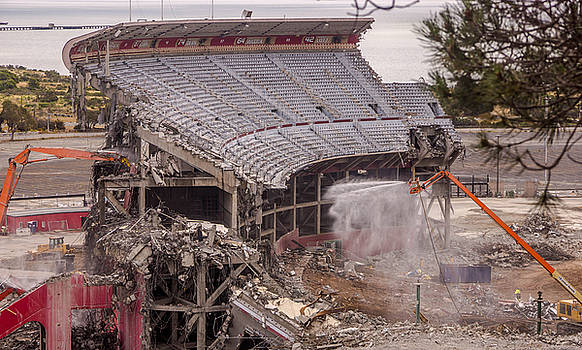 Randy Straka - Candlestick Park Under Destruction 3