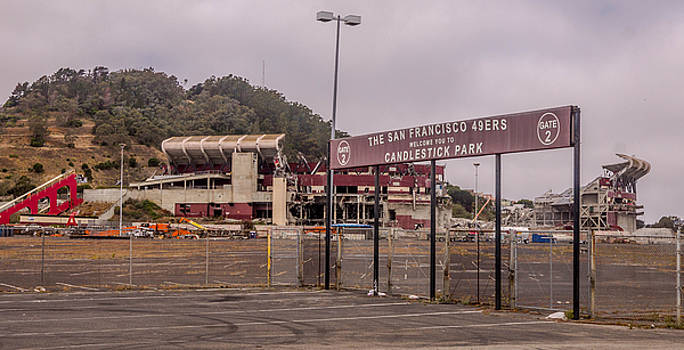 Randy Straka - Candlestick Park Under Destruction 9