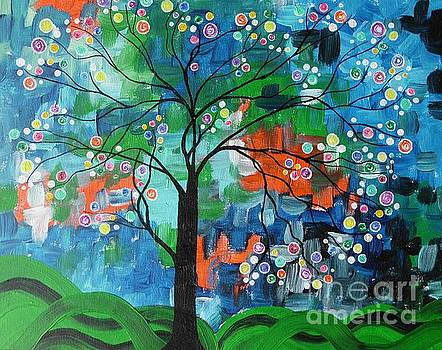 Candy tree by Dawn Plyler