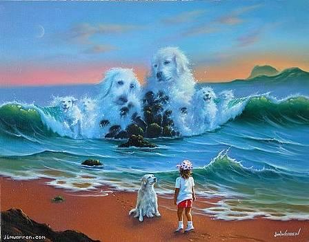 Canine Companions by Jim Warren