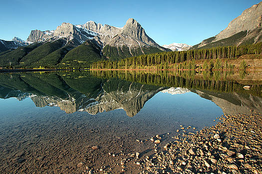 Canmore Reflections by Celine Pollard