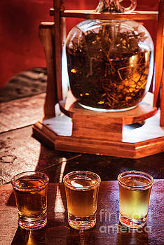 Cannabis Infused Alcohol Medical Marijuana Shots by Jacek Malipan