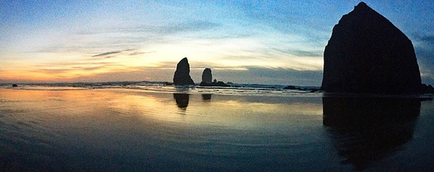 Cannon Beach by Claudia Fuenzalida Johns