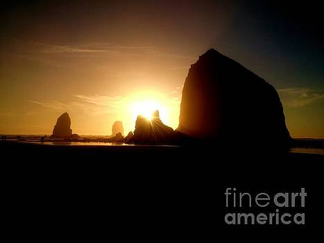Cannon Beach Oregon  by Guy Hoffman