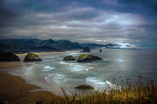 Cannon Beach, Oregon by Shiela Kowing