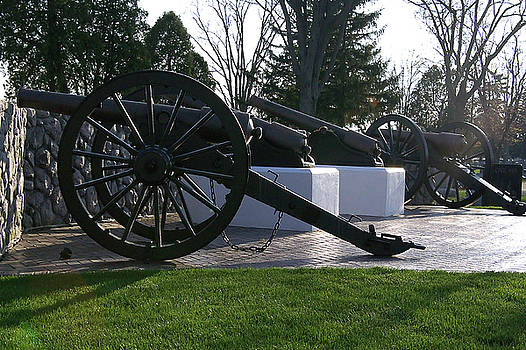 Cannons by Christina Treece