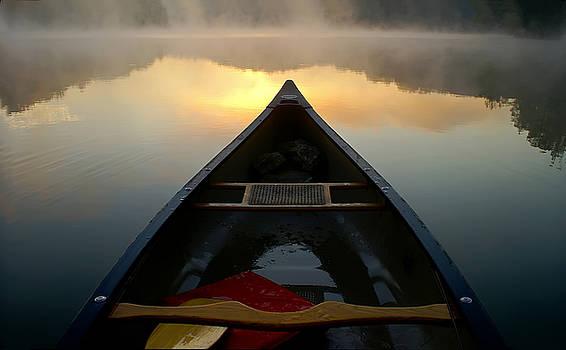 Canoe Dawn by Keith Bridgman