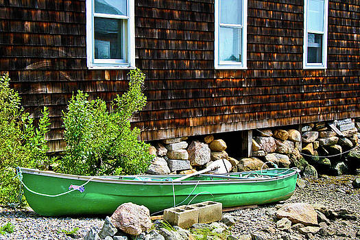 Canoe I by Dawn Wayand