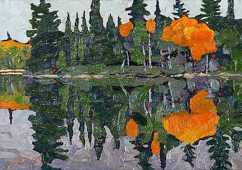 Phil Chadwick - Canoe Lake Autumn