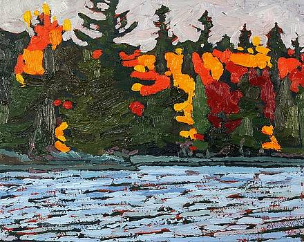 Phil Chadwick - Canoe Lake Colours