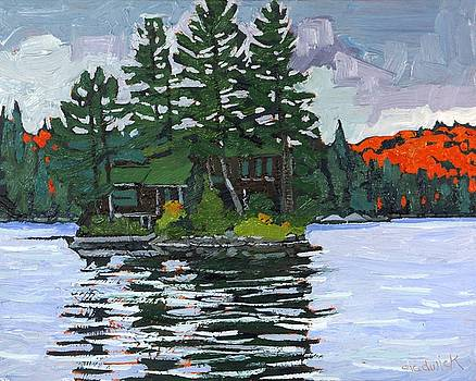 Phil Chadwick - Canoe Lake Cottage Island