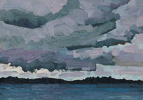 Phil Chadwick - Canoe Lake Rain Clouds