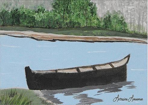 Canoe by Lorraine Louwerse