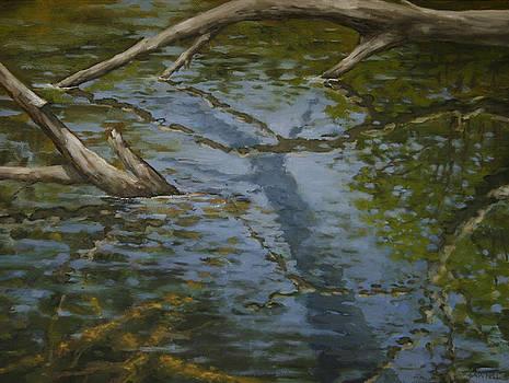 Canoe Painting 1 by Jason Sawtelle