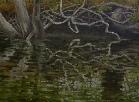 Canoe Painting 2 by Jason Sawtelle