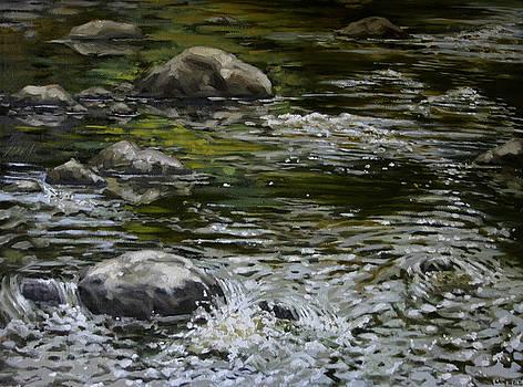 Canoe Painting 4 by Jason Sawtelle