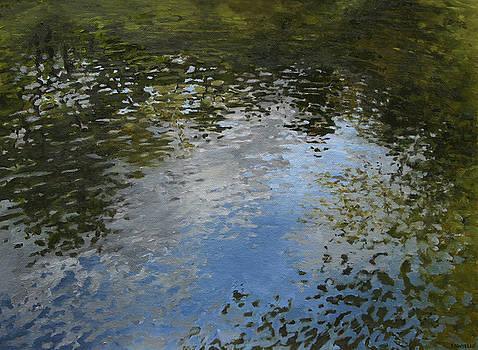 Canoe Painting 5 by Jason Sawtelle