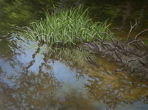Canoe Painting 7 by Jason Sawtelle