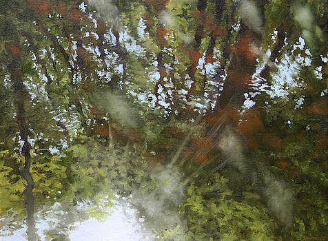 Canoe Painting 8 by Jason Sawtelle