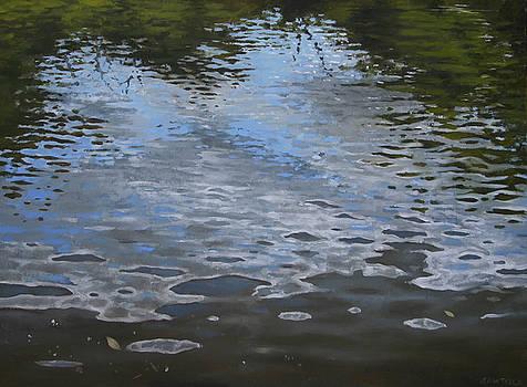Canoe Painting 9 by Jason Sawtelle