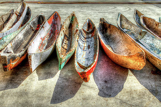 Canoes by Debra and Dave Vanderlaan