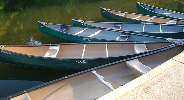 Canoes by Sherry  Kepp