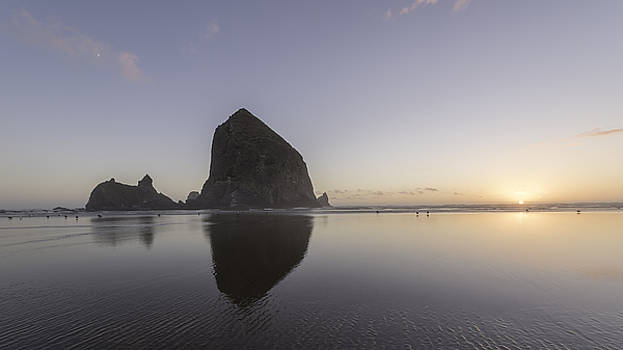 Canon Beach sunset by Michael Donahue