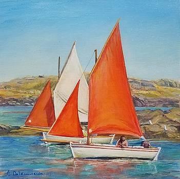 Canots Chausiais by Muriel Dolemieux