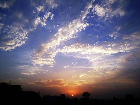 Can't decide- sunrise or sunset? by Atullya N Srivastava