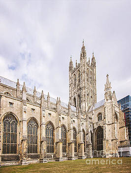 Sophie McAulay - Canterbury cathedral steeple