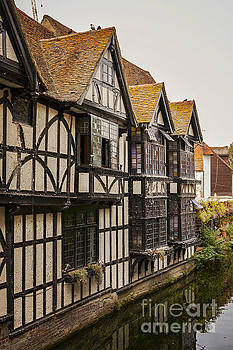 Sophie McAulay - Canterbury half timbered building
