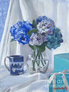 Candace Lovely - Canton Hydrangeas and Tiffany