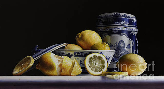 Canton with lemons by Lawrence Preston