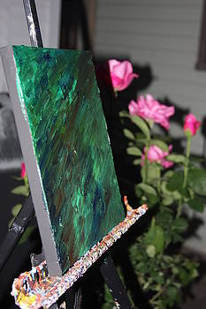 Canvas and Roses by Vadim Levin