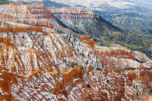 Canyon At Cedar Breaks National Park by Hyuntae Kim