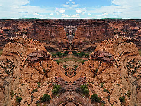 Canyon de Chelly Mirror by Kyle Hanson