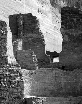 Jeff Brunton - Canyon de Chelly White House Ruin 4bw