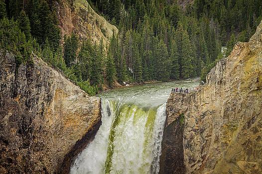 Canyon Falls by Victoria Winningham