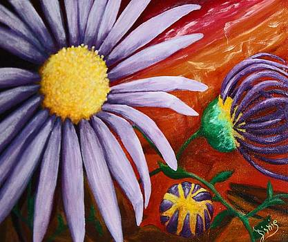 Canyon Flower by Dixie Hester