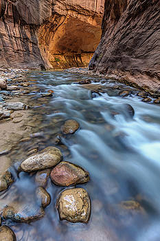 Canyon Glow River Flow by Pierre Leclerc Photography