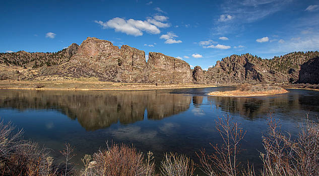 Canyon reflections by Celine Pollard