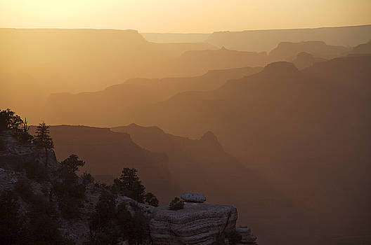 Canyon Silhouettes by Mike Buchheit
