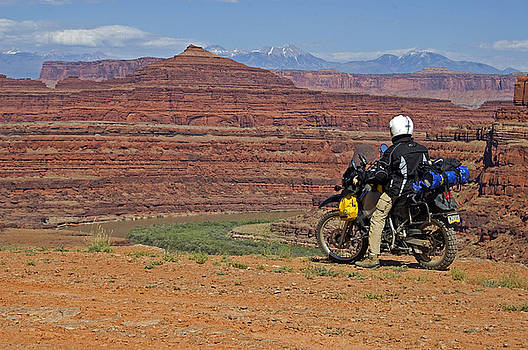 Canyon View Canyonlands Utah by Kristen Vota