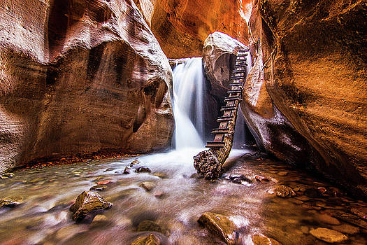 Canyon Waterfall by Craig Rowtham
