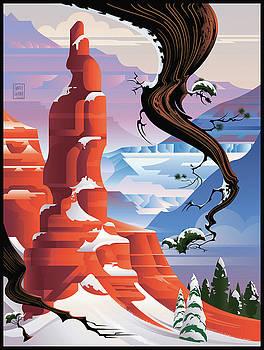 Garth Glazier - Bryce Canyon Christmas