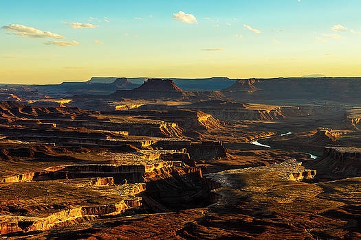 Canyonlands Golden Hour by James Marvin Phelps