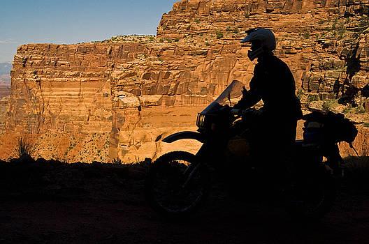 Canyonlands Silhouette by Kristen Vota
