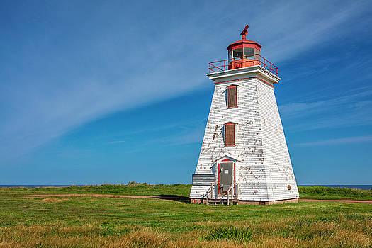 Cap Egmont Lighthouse by Eunice Gibb